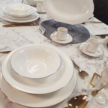 Service de table Evry Gold – 25 pièces