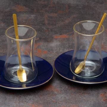 Set verre à thé BLUE – 18 pcs