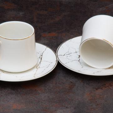 Set tasse à expresso OTANTIK -Blanc- 12 pcs